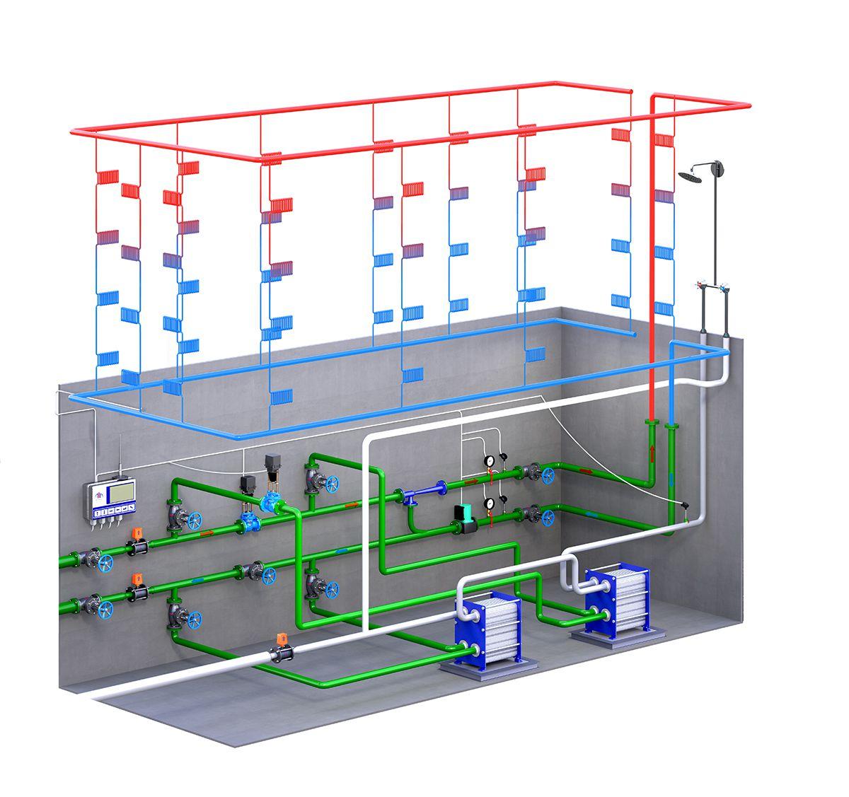 Какая температура воды должна быть из теплообменника на горячую воду Пластинчатый теплообменник Alfa Laval AQ2-FD Таганрог